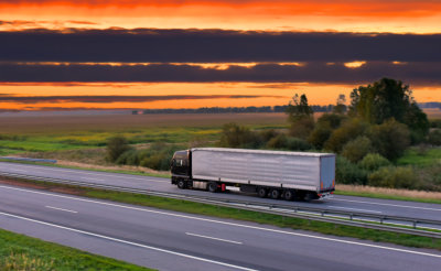 Goods Delivery. Services and Transport logistics.